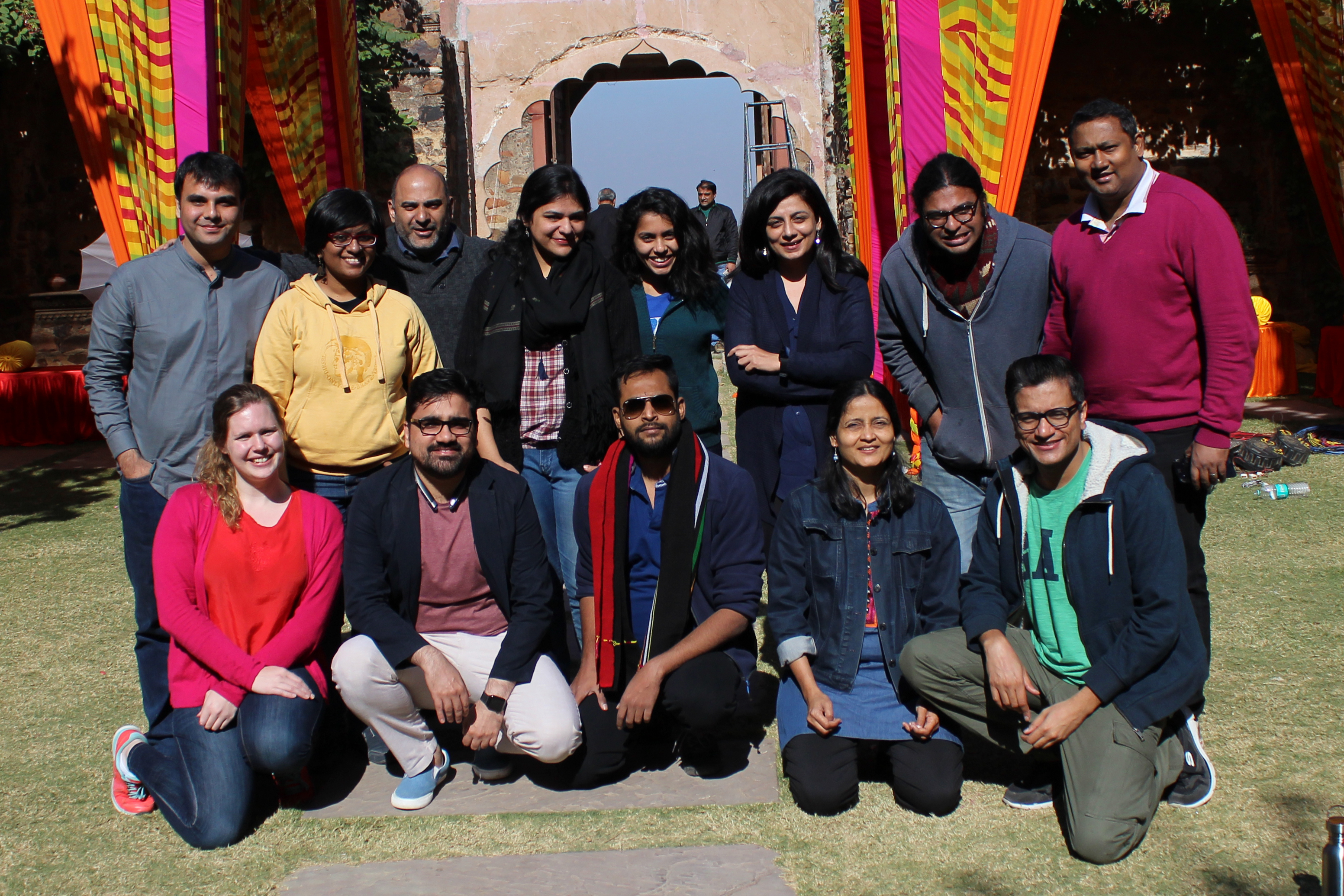 Current and former ICFJ Knight Fellows and associates from India