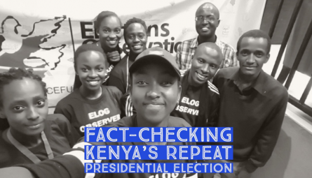 PesaCheck 2017 Fact-Checking Kenya's Repeat Presidential Election