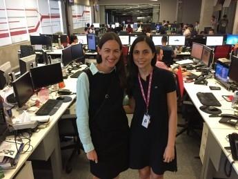 Newsroom Exchange Gives Brazilian and U S  Journalists a Crash