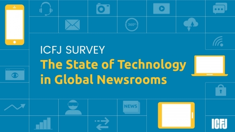 State of Technology in Global Newsrooms cover