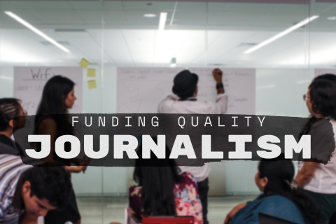 Funding quality journalism graphic