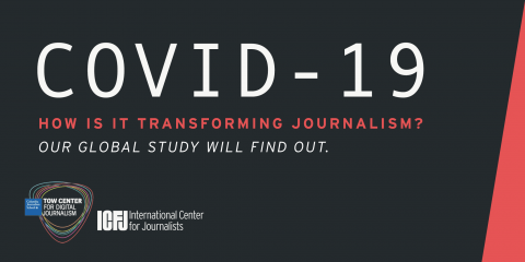 How is COVID-19 Transforming Journalism? Our Global Study Will Find Out