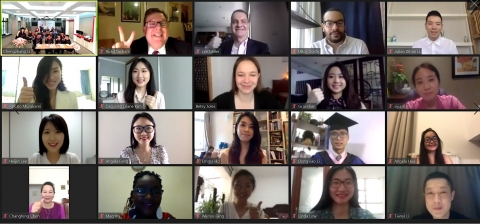 Virtual commencement ceremony for 2020 GBJ graduates