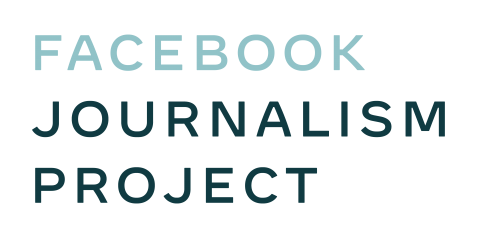 Facebook Journalism Project 2020 Logo