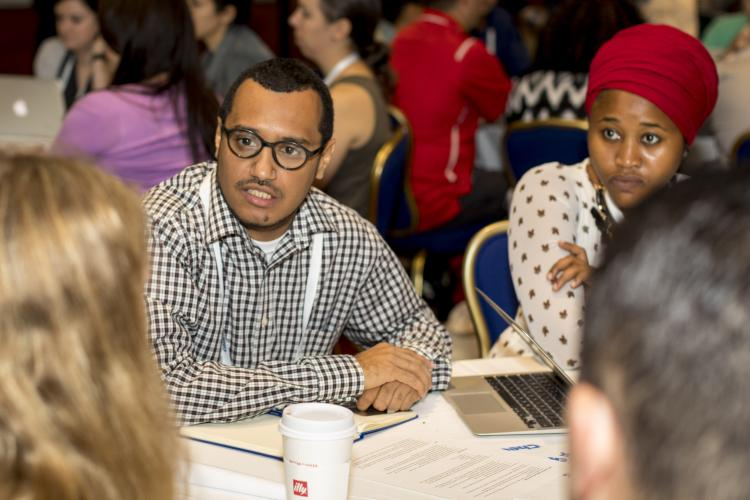 ICFJ Knight Fellow Omar Mohammed