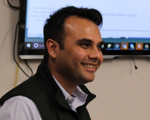 ICFJ Knight Fellow Ritvvij Parrikh