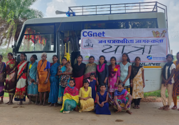 The training team at CGnet Swara